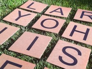 Yard Boggle Scrabble Cardboard5