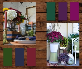 Fall Colors 1 - jewel tones