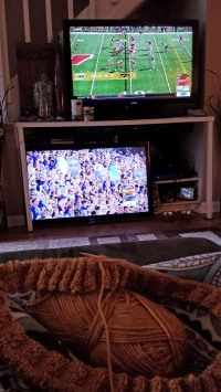 Football and Knitting